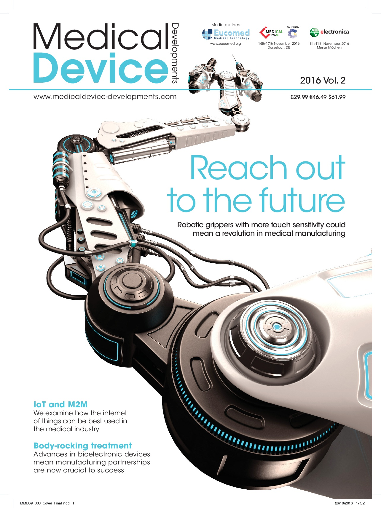 Medical Device Developments Vol. 2 2016